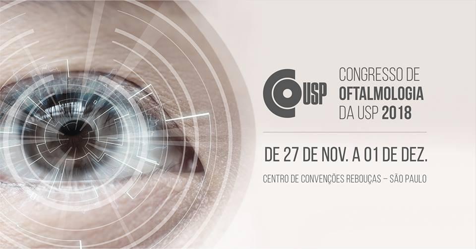 Estaremos no Congresso de Oftalmologia da USP 2018